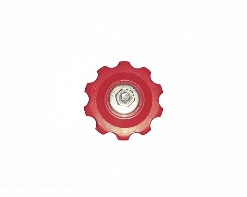 Ролик нижний POWER для заднего переключателя скоростей, красный