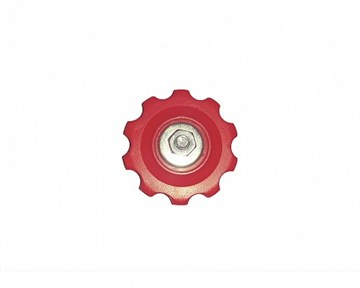 Ролик нижний POWER для заднего переключателя, красный
