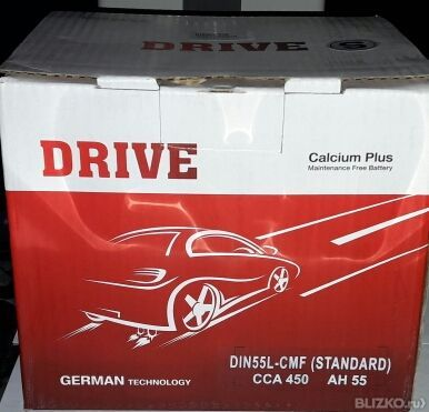 Аккумуляторная батарея Drive Calcium CMF 60B24R