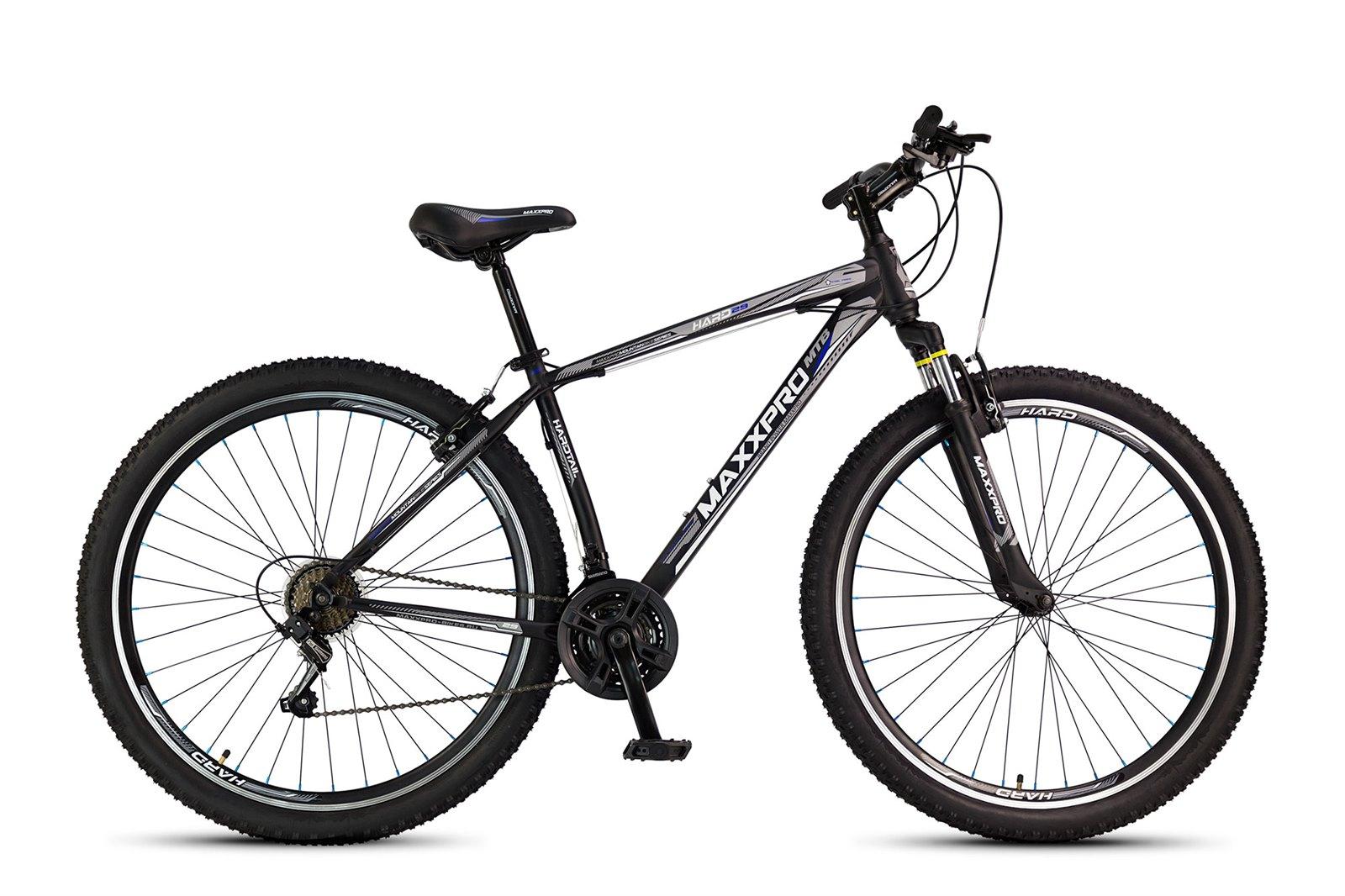 Велосипед MAXXPRO HARD 29 черно-салатовый
