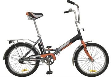 Racer 20-6-31 (серо-оранжевый), складной велосипед для подростков