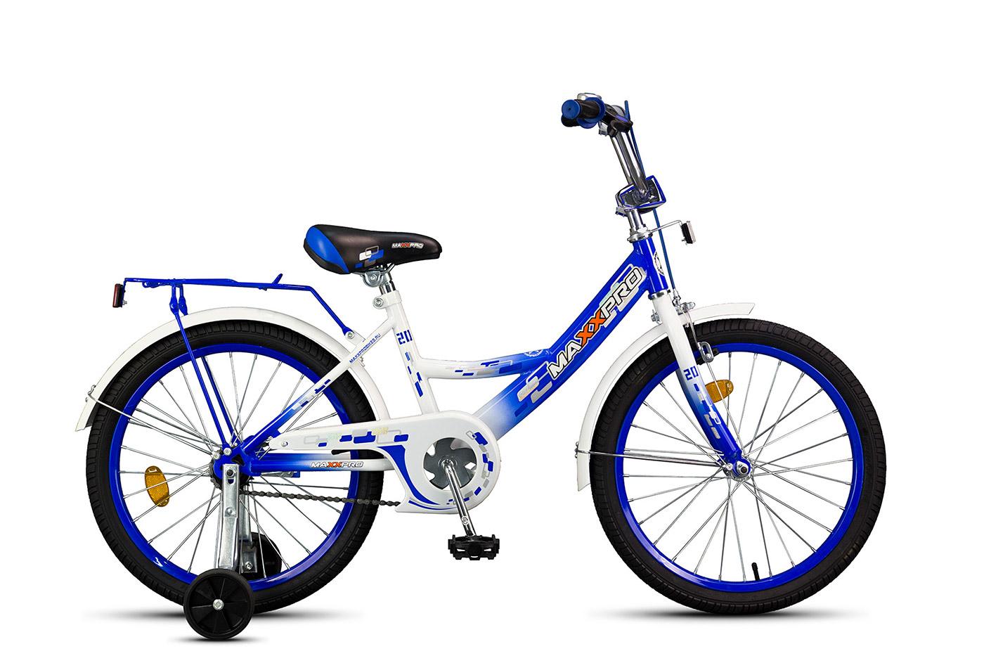 Велосипед 20 MAXXPRO Z20205 (18), фиолетово-белый