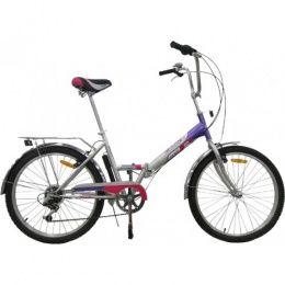 Racer 24-6-31 (фиолетовый), складной велосипед