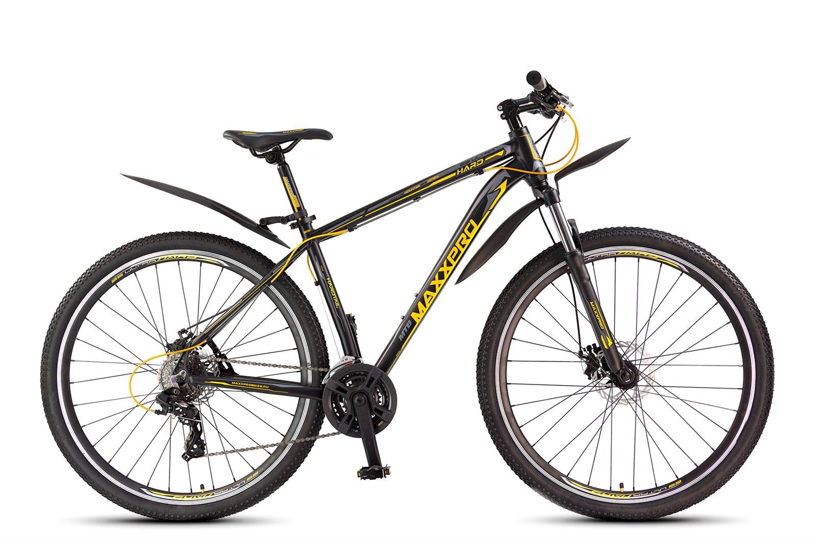 Велосипед MAXXPRO HARD 29 ULTRA черно-желтый