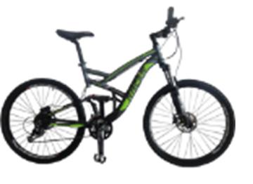 """Racer 26-231 (19,5""""), двухподвесный велосипед"""