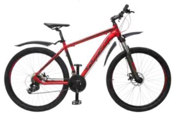 """Велосипед Wind Mont Blanc 27,5"""" 21-скор красный"""