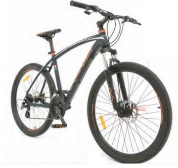"Велосипед Wind OLYMPIC 26"" 21-скор серый"