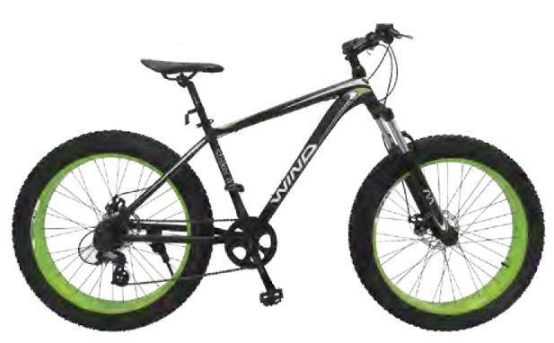 """Велосипед Wind Stalker 4.0 26"""" 21-скор черно-зеленый"""
