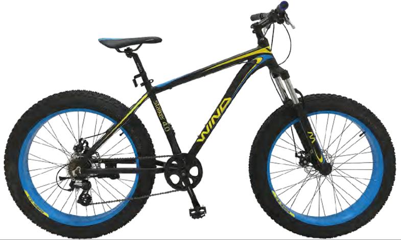 """Велосипед WIND Stalker 4.0 26"""" 21-скор черно-синий"""
