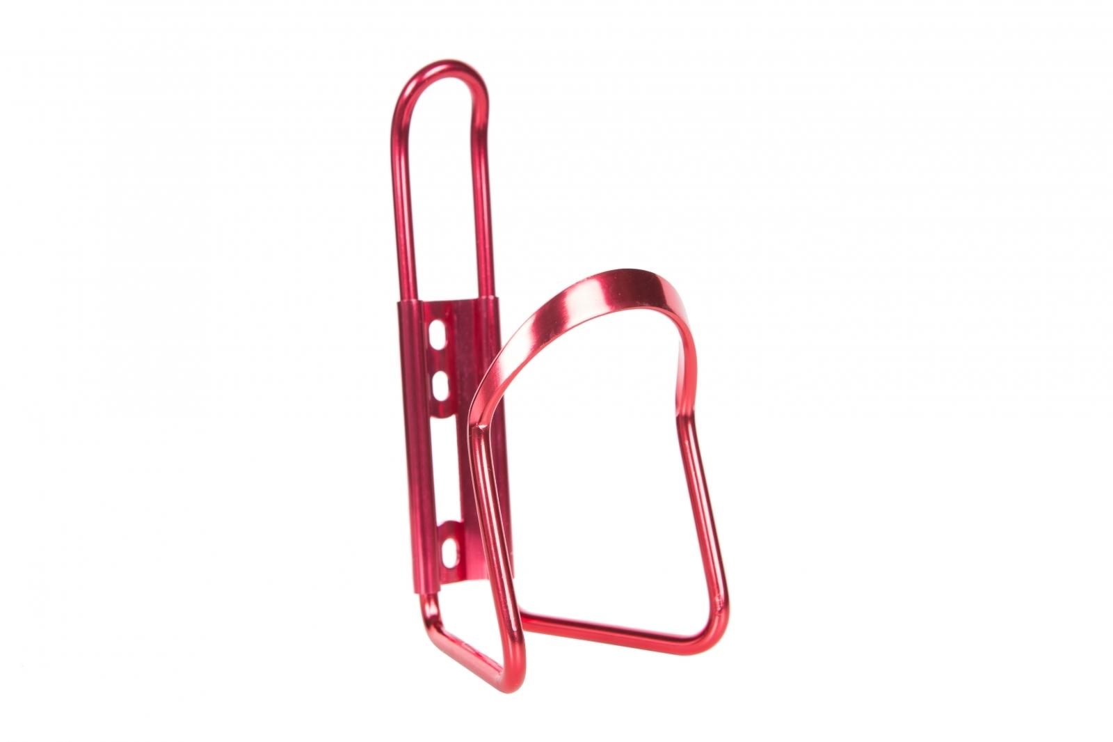 Флягодержатель алюминиевый ТИП1, цвет красный