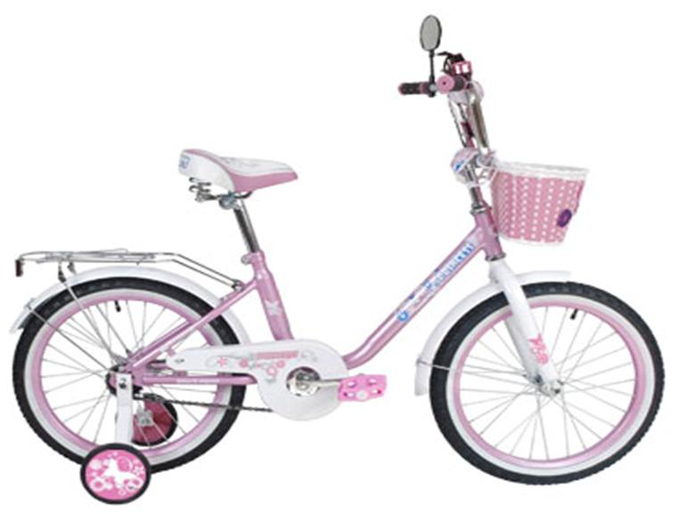 """Велосипед BLACK AQUA Princess 16"""" 1-скор розовый-белый (2017)"""