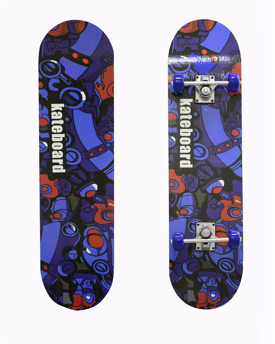 Скейтборд BlackAqua SK-3108 Print 2