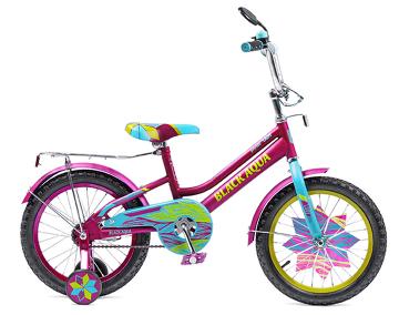 """Велосипед BLACK AQUA Lady 18"""" фиолетово-бирюзовый (2018)"""