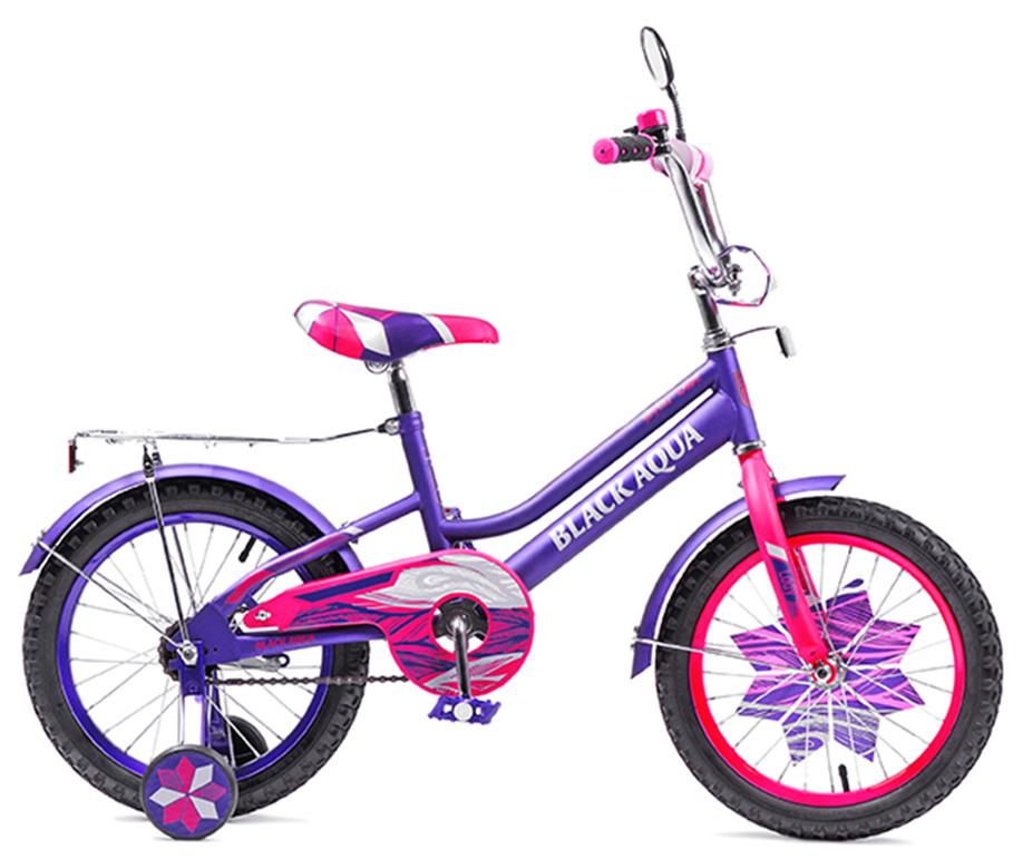 """Велосипед BLACK AQUA Lady 18"""" фиолетово-розовый (2018)"""