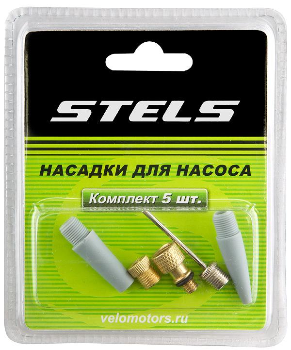 STELS Комплект насадок для насоса из 5-ти элементов