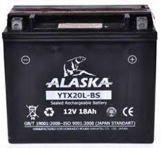 Мото аккумулятор ALASKA YTX20L-BS