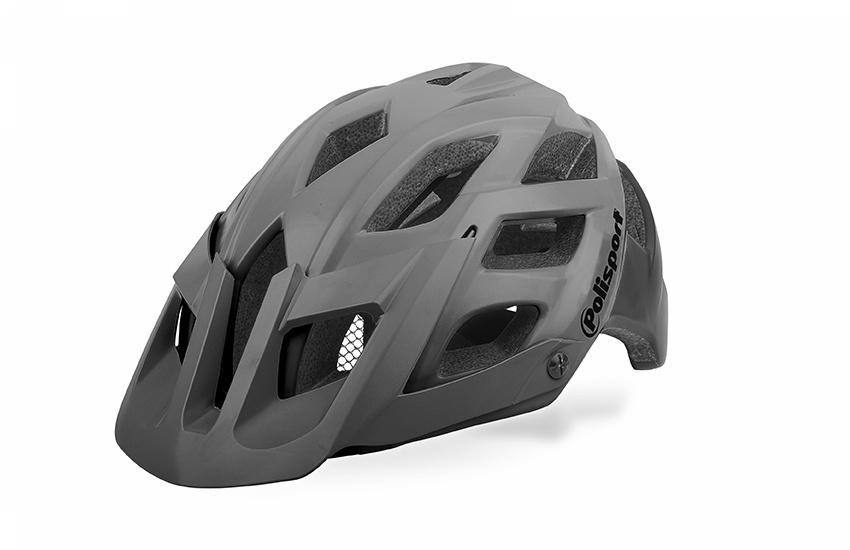 Шлем POLISPORT E3 тёмно-серый/чёрный размер L