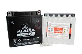 Мото аккумулятор ALASKA 12N9-4B-BS 12V