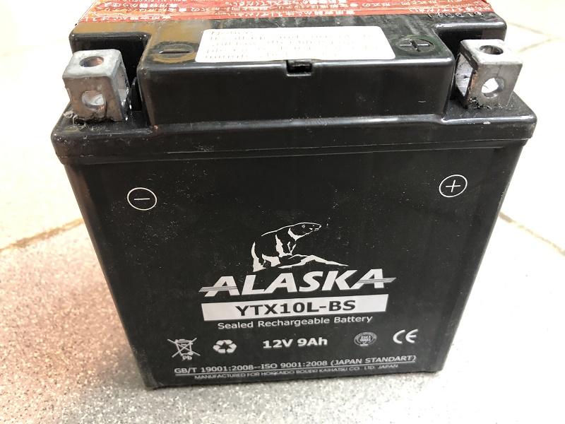 Мото аккумулятор ALASKA YTX10L-BS