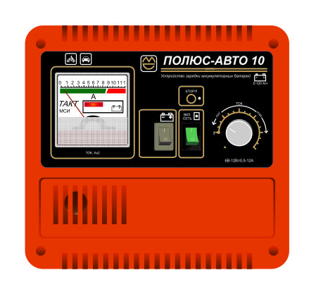 Зарядное устройство ПОЛЮС-АВТО 10
