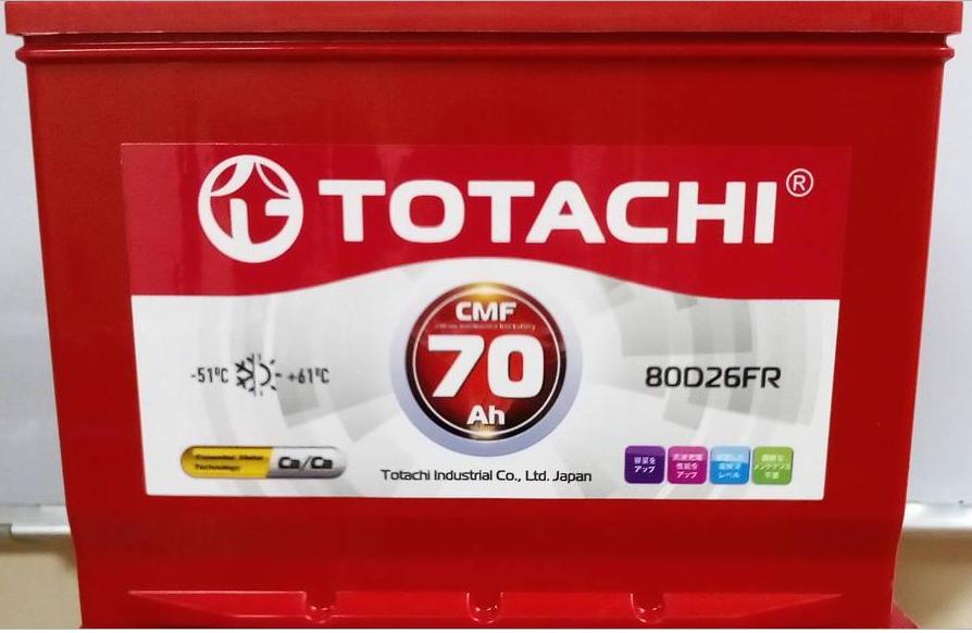 TOTACHI CMF 80D26FR автомобильный аккумулятор