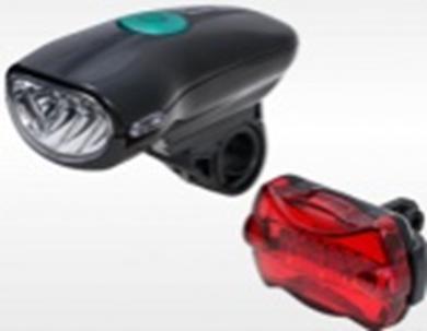 Комплект велосипедных фар JY-822-2 передний + задний
