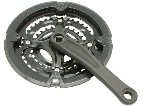 Шатуны GW-16010-PC16, стальные, 3 скорости, 28/38/48T, 170 мм