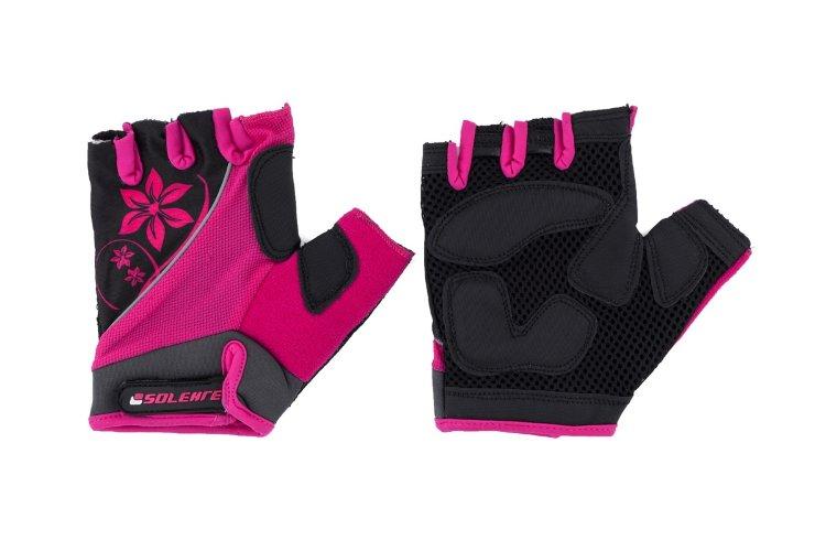 Перчатки велосипедные SOLEHRE SB-01-5281 M, розовые