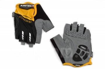 Велоперчатки Solehre, SB-01-5002 XL, чёрно-оранжевые
