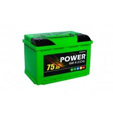 Power 6 СТ-75 NR, автомобильный аккумулятор