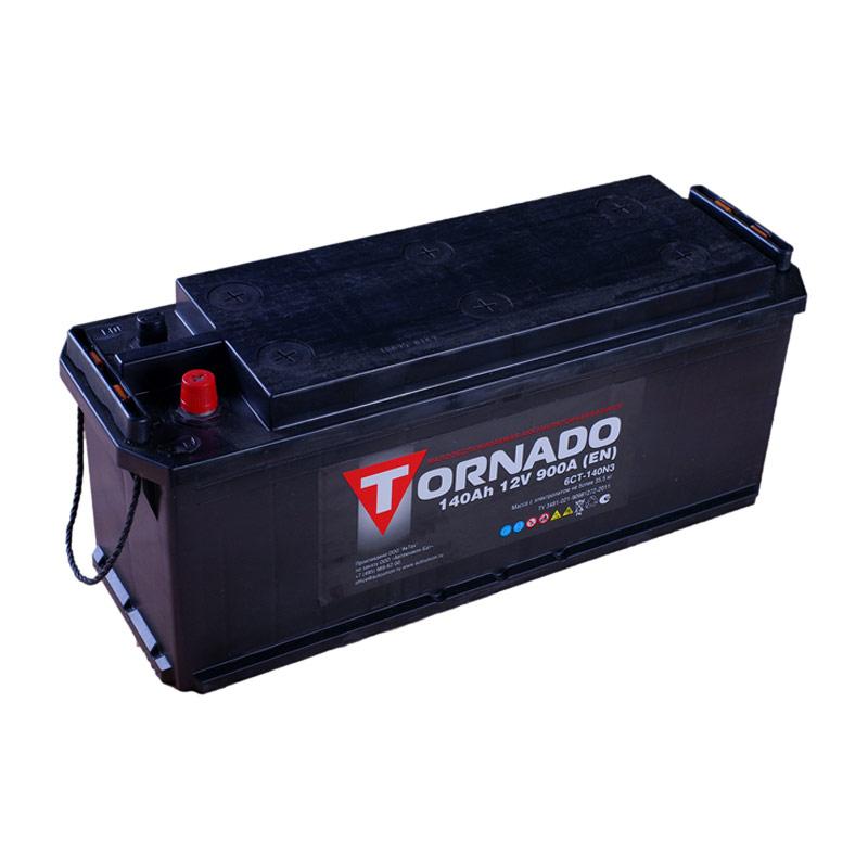 Tornado 6CT-140 АЗ, автомобильный аккумулятор