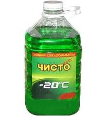 Жидкость стеклоомывающая Чисто Плюс -25  4л