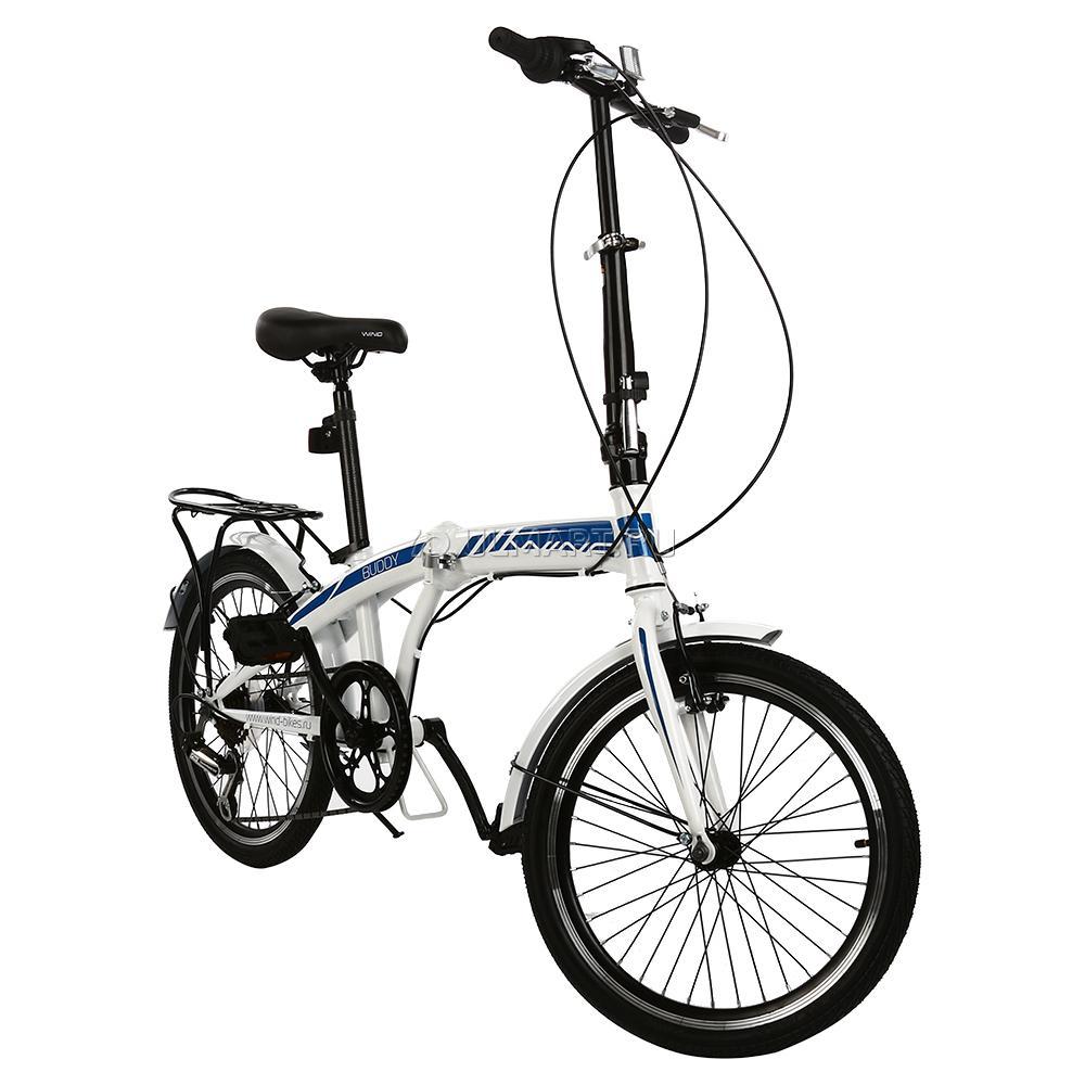 """Велосипед WIND Buddy 20"""" 7-ск, белый"""