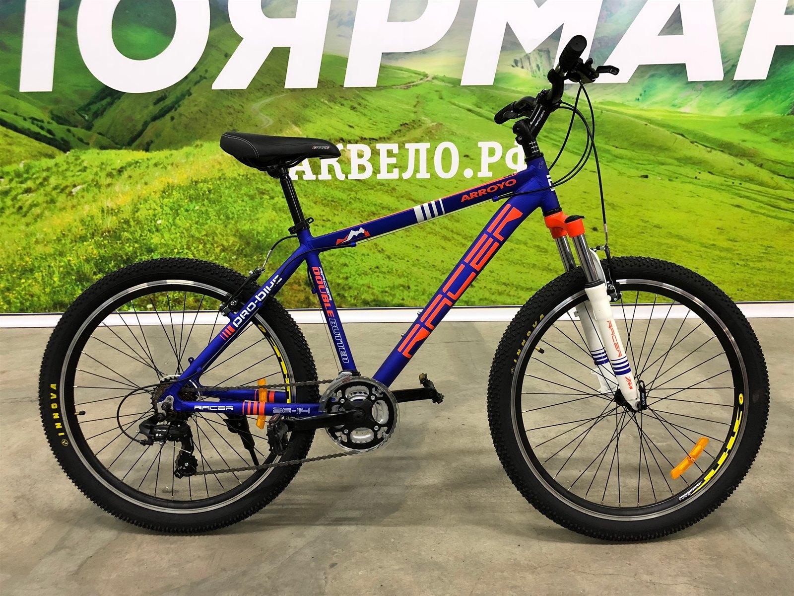 26-114 Велосипед спортивный RACER (20 рама)