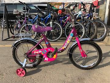 Велосипед детский Racer 16-011 (ВЫСТАВОЧНЫЙ)