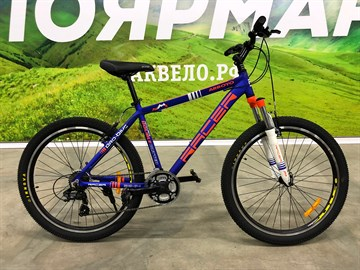 26-114 Велосипед спортивный RACER (18 рама)
