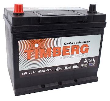Аккумуляторы Timberg Asia MF80D26R