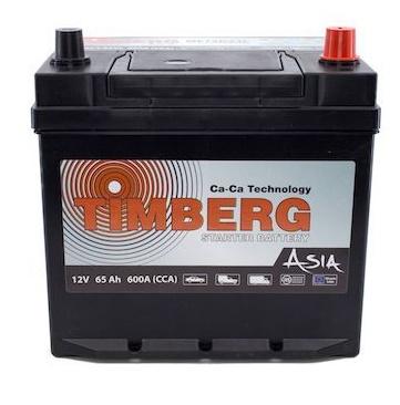 Аккумуляторы Timberg Asia MF75D23L 65Ah