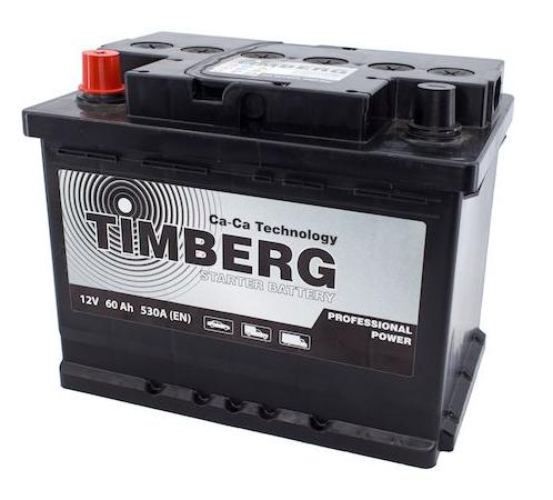 Аккумулятор Timberg Professional Power 60Ah L 530А
