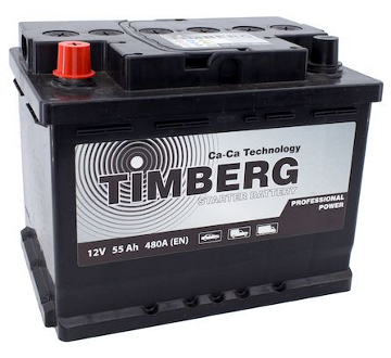 Аккумулятор Timberg Professional Power 60Ah L 530А