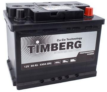 Аккумулятор Timberg Professional Power 60Ah R 530А