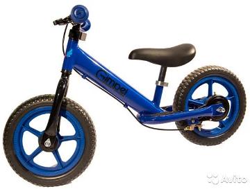 Беговел Gimpel LS 12 (Brake) Blue
