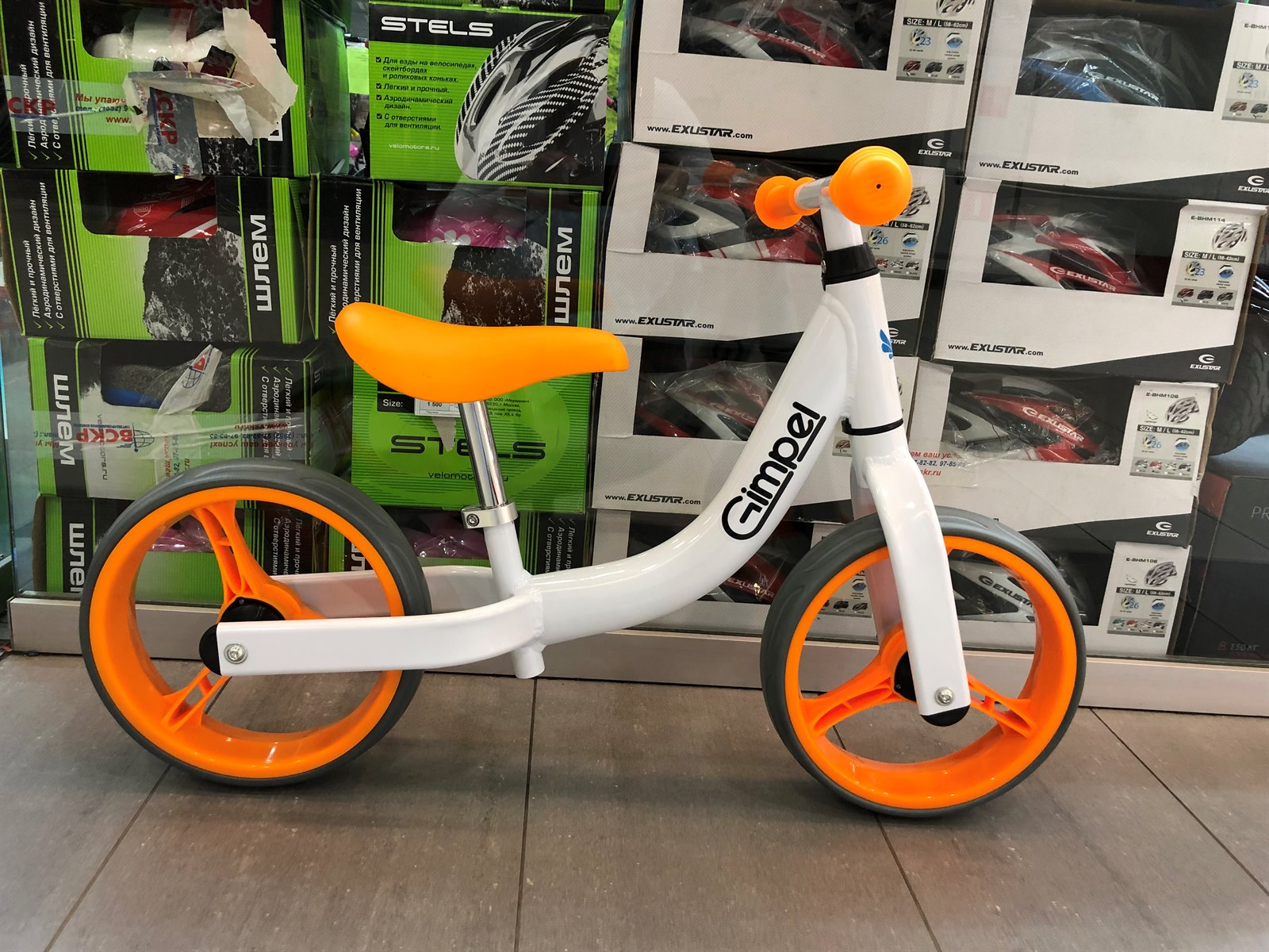 Беговел Gimpel LA 10 Orange/White