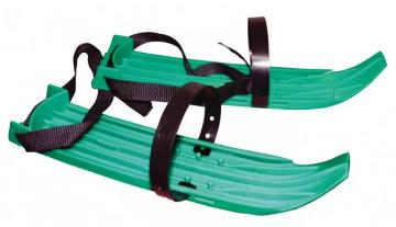 Мини-лыжи 41 см цвет зеленый