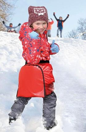 Ледянка-шорты Тяни-Толкай Ice Shorts 1 S, цвет красный