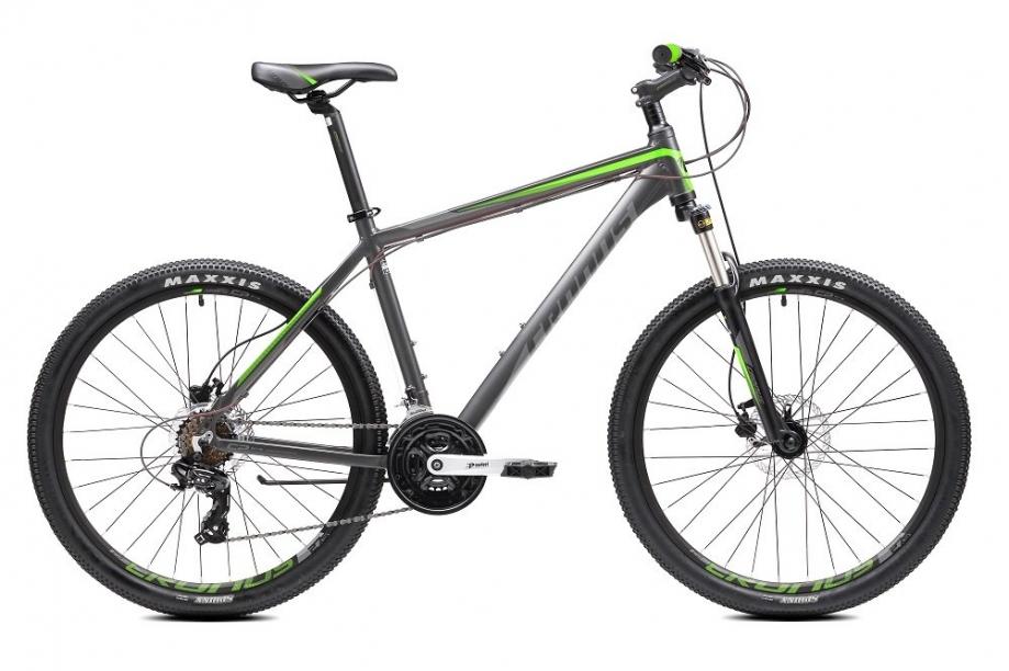 "Велосипед Cronus Coupe 3.0 колеса 27,5"" рама 19"" серо-зеленый"