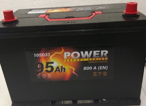 Аккумулятор POWER Asia 105D31L