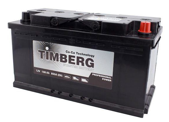 Аккумулятор Timberg Professional Power 100Ah R 850А