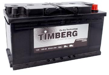 Аккумулятор Timberg Professional Power 100Ah R 850А