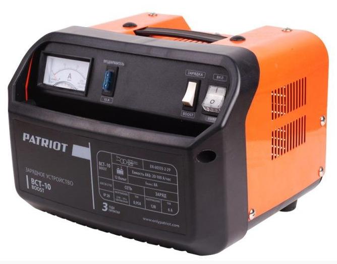 Зарядное устройство предпусковое PATRIOT BCT-10 Boost